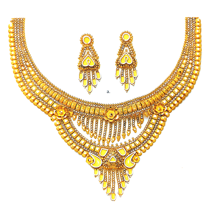 Double Layer Gold Neckalce