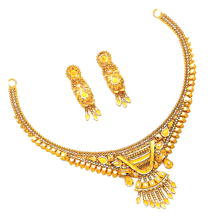 Vedika Gold Necklace