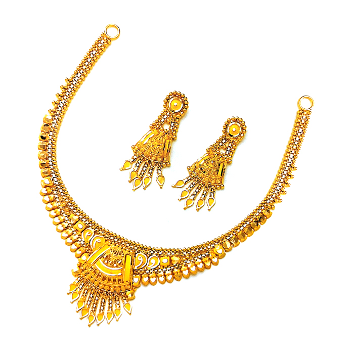 Pushpak Gold Necklace