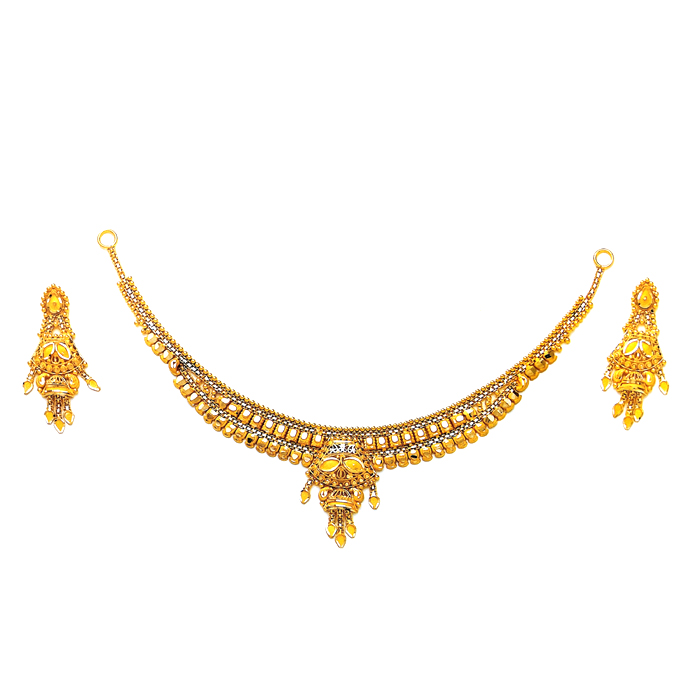 Shubha Gold Necklace