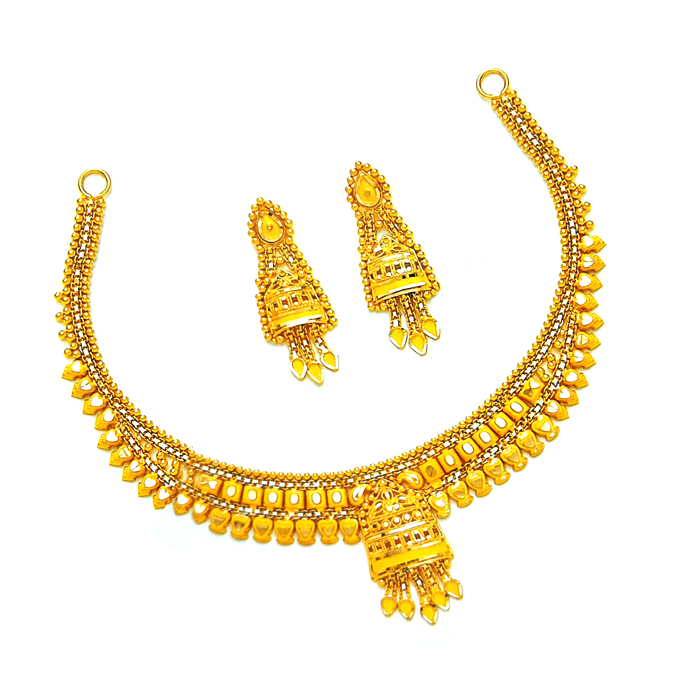 Kumkum Gold Necklace