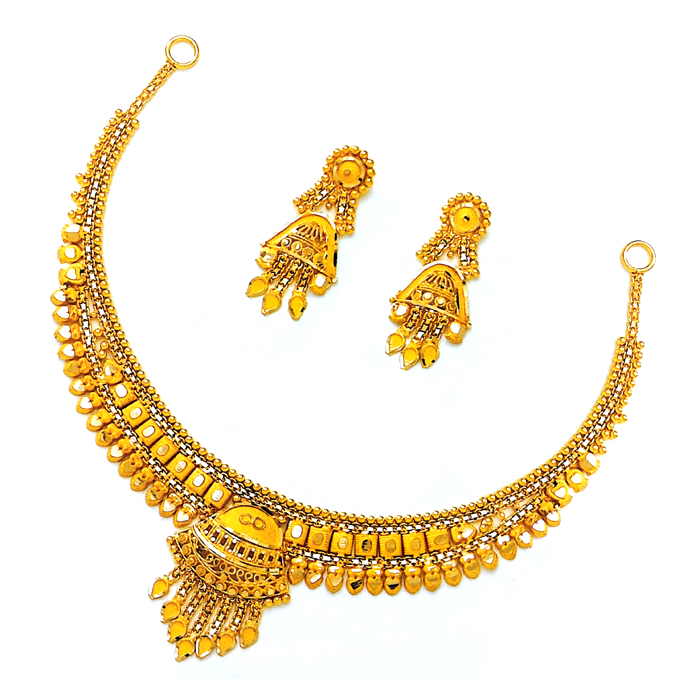 Mahi Gold Necklace