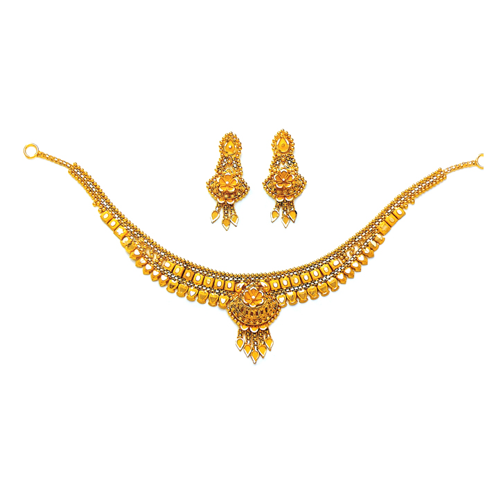 Charu Gold Necklace