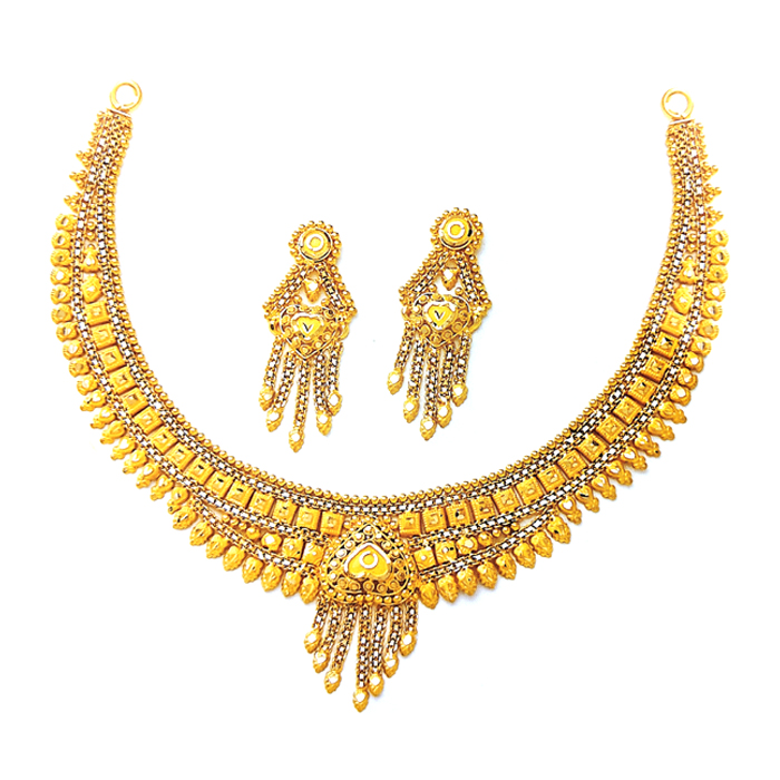 Dazzling Gold Necklace