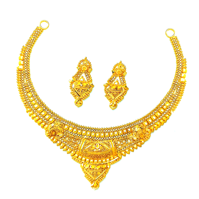 Suhag Gold Necklace