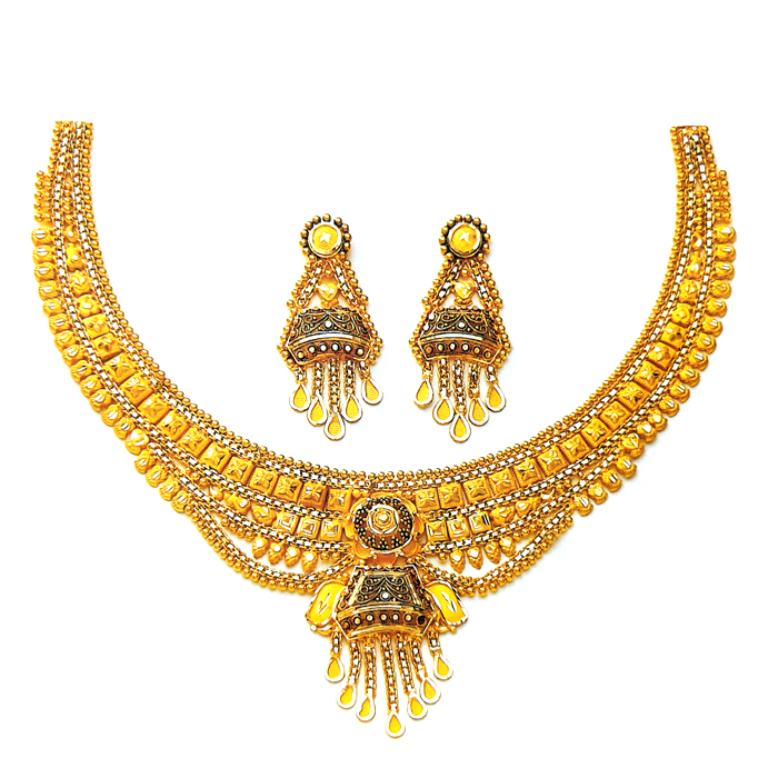 Rajnika Gold Necklace
