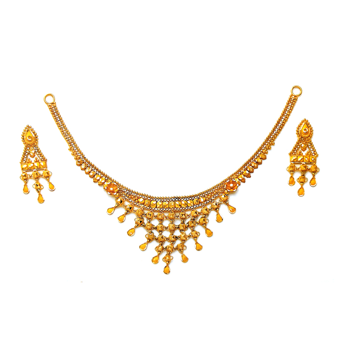 Zharokha Gold Necklace