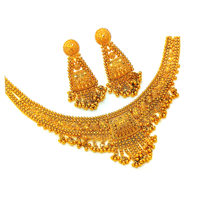 Shagun Gold Necklace