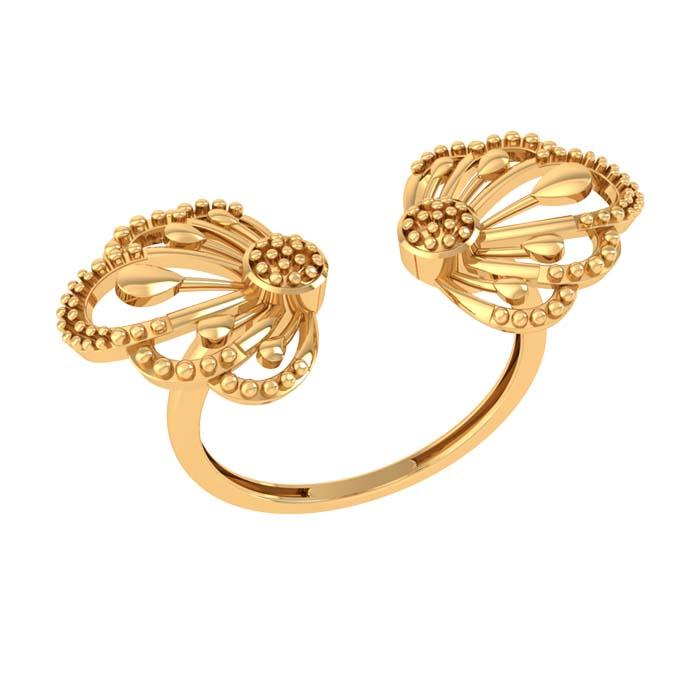 Shivani Gold Ring