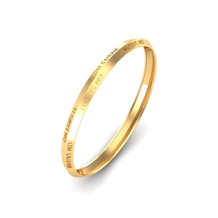 Om Sai Ram Gold Kada