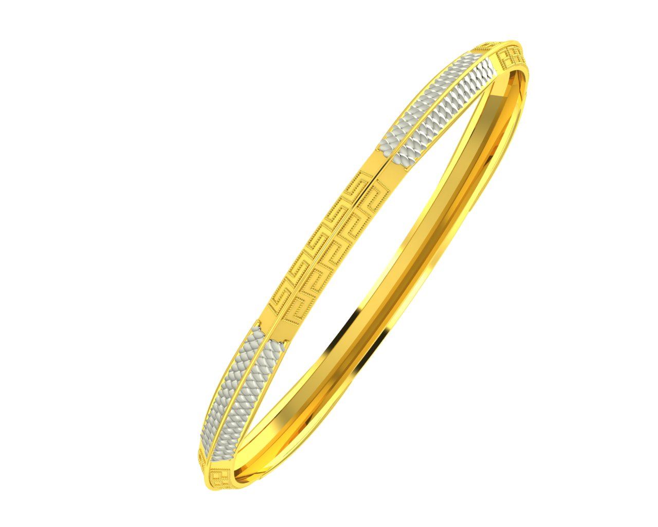 Twisted Gold Kada