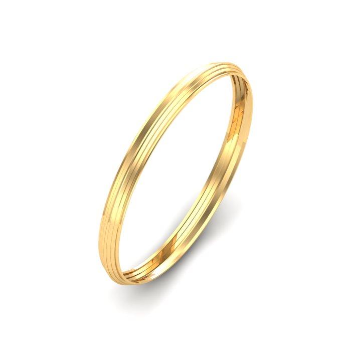 Plain Gold Kada