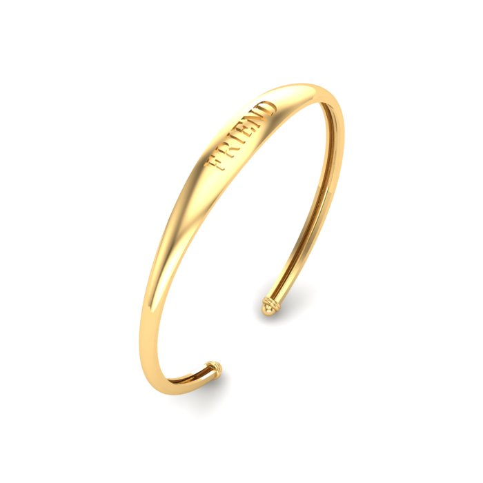 Friend Gold Kada