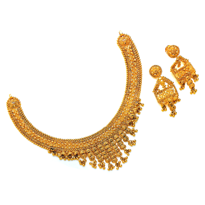 Manali Gold Necklace