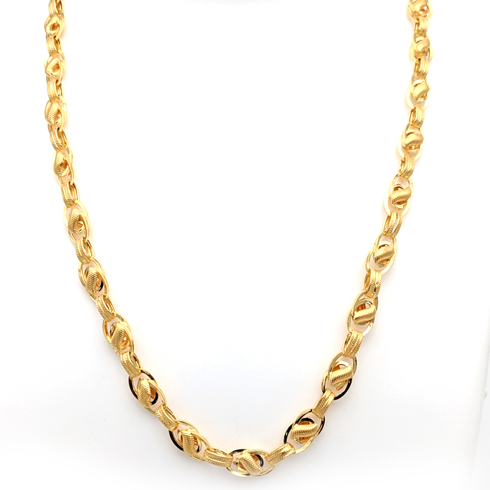 Twine Weave Gold Chain