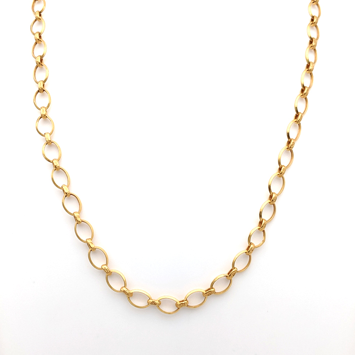 Transparent Gold Chain