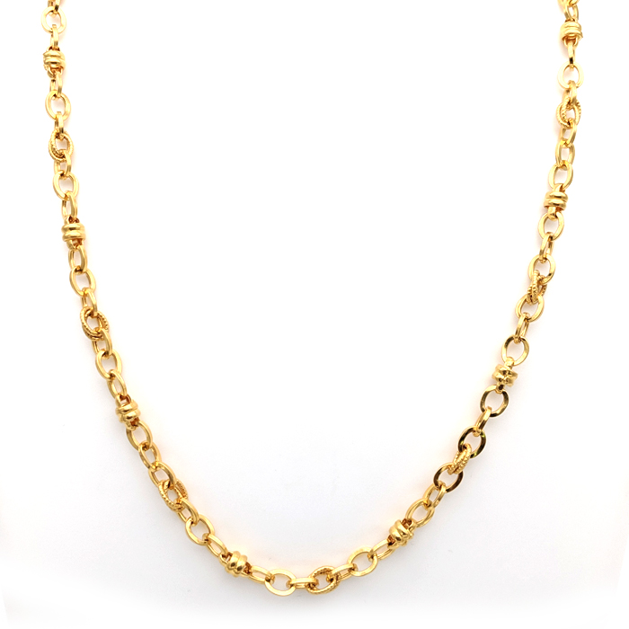 Fashion Frill Gold Chain