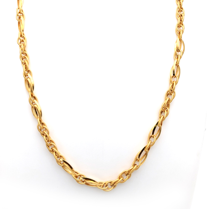 Clasp Gold Chain