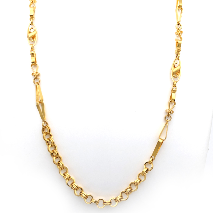 Tringle Tein Gold Chain