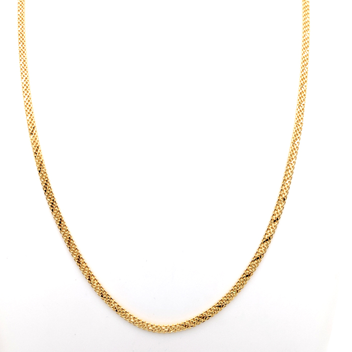 Sparkling Gold Chain