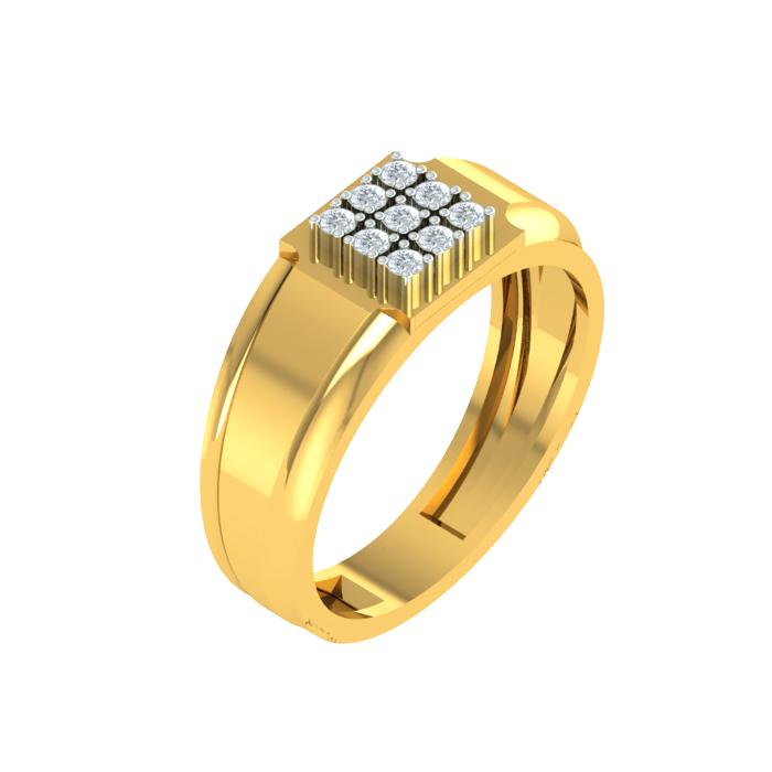 Ornate Diamond Ring