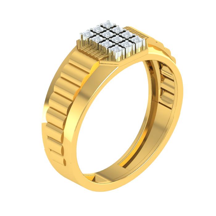 Kicky Diamond Ring
