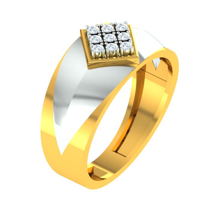 Ennead Diamond Ring
