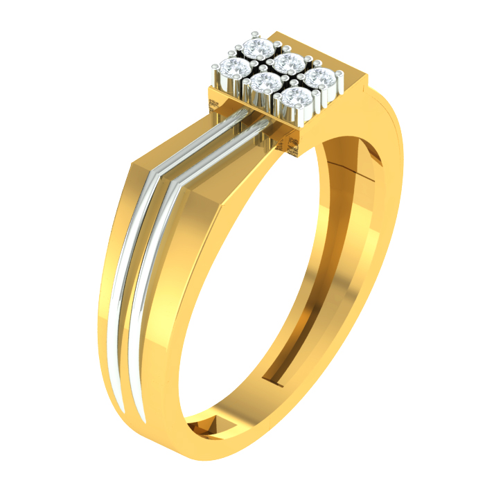 Novel Diamond Ring