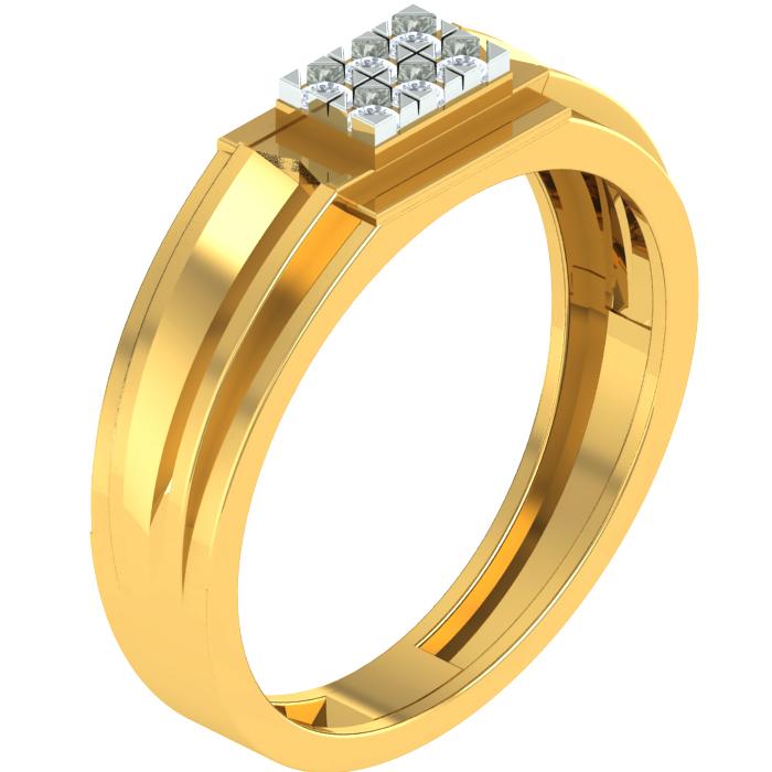 Charm Diamond Ring