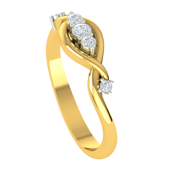 Diva Diamond Ring