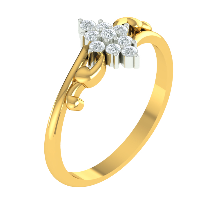Aisha Bloom Diamond Ring