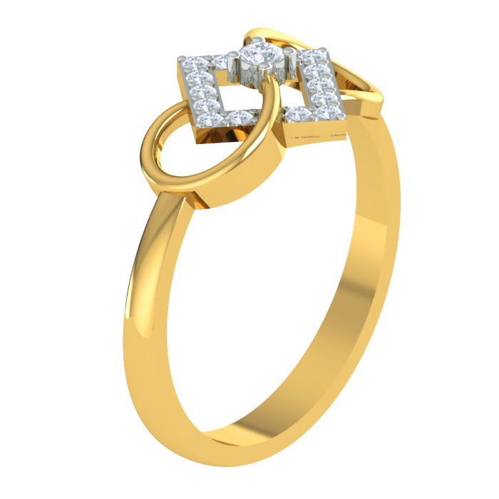 Marina Diamond Ring