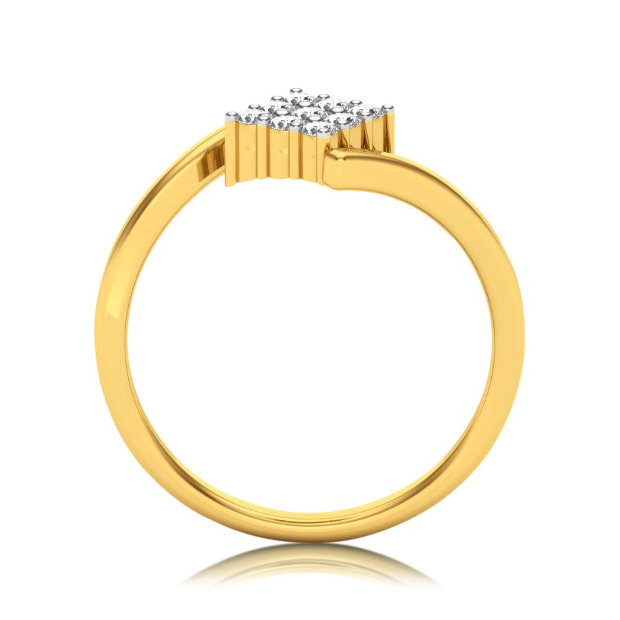 Squared Kite Diamond Ring