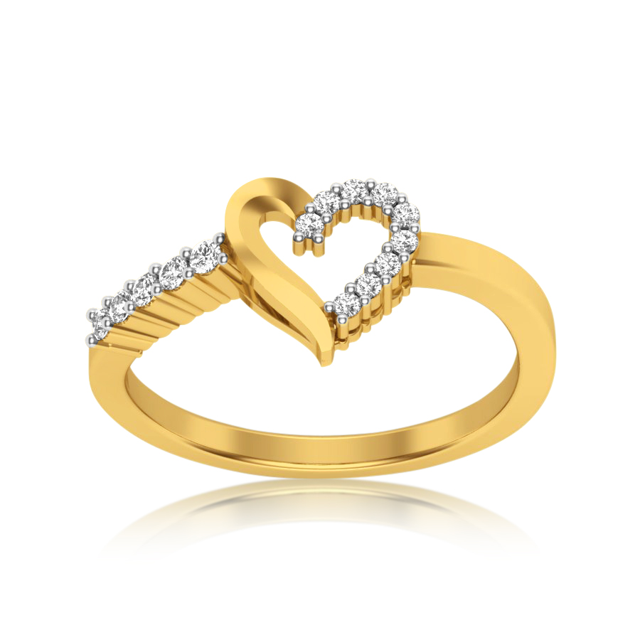 Beyond The Heart Diamond Ring