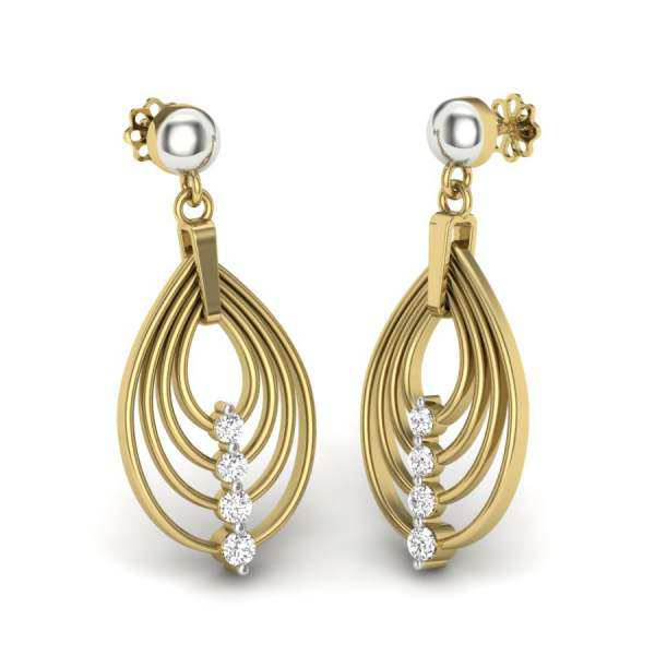 Dangle Diamond Earring