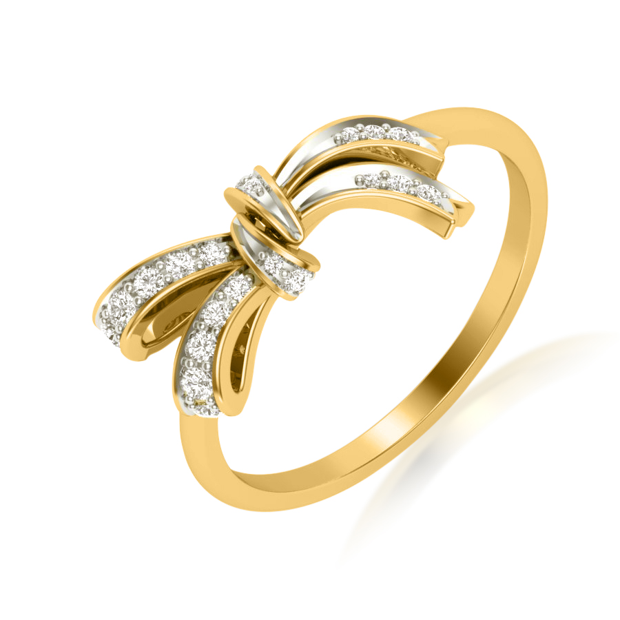 Knot It Right Diamond Ring