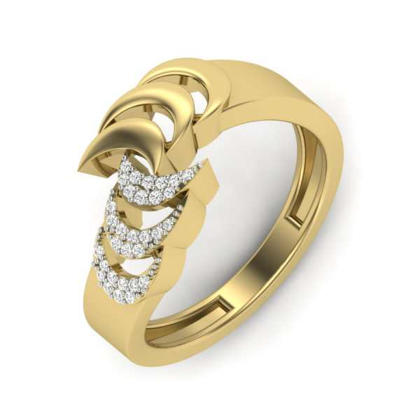 Love for Curves Diamond Ring