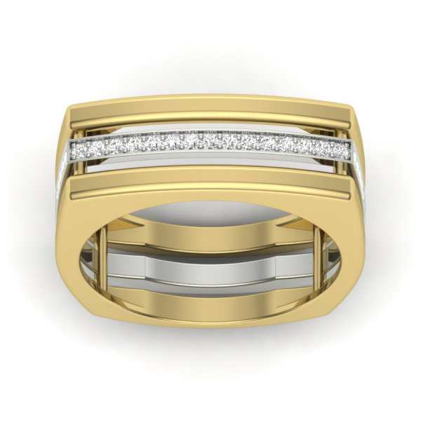 Line of Boldness Diamond Ring