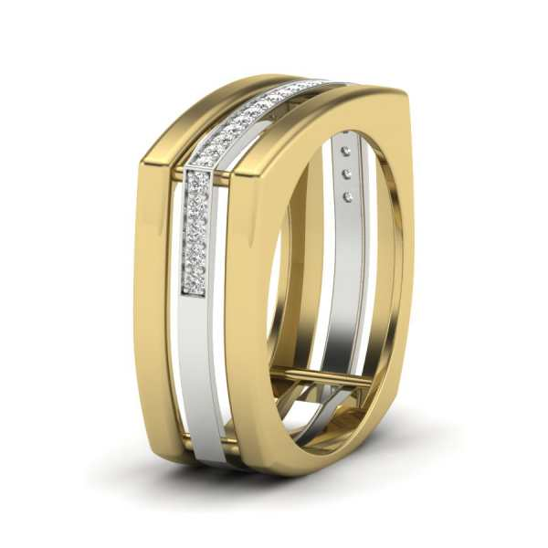 Line Boldness Diamond Ring