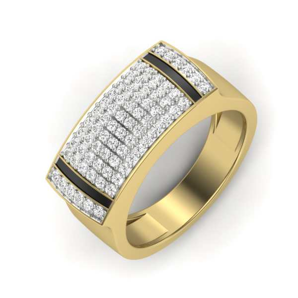 Man of Substance Diamond Ring