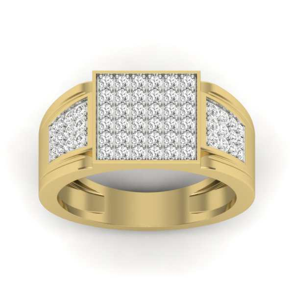 Love for Square Diamond Ring