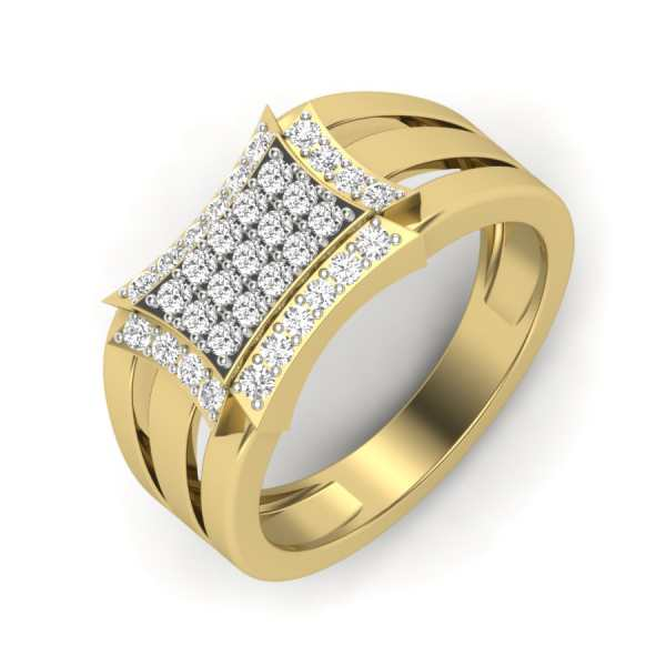 Shining Macho Diamond Ring