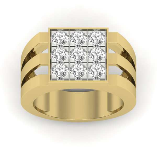 Love 9 Diamond Ring