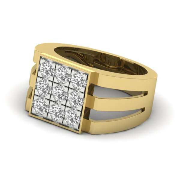 Love 9 Diamond Ring
