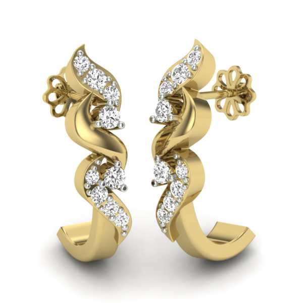 Knotty Tales Diamond Earring