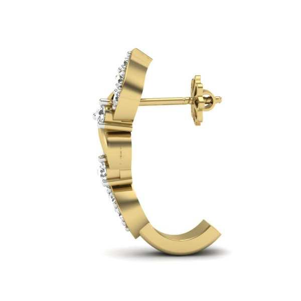 Knotty Tales Diamond Earring