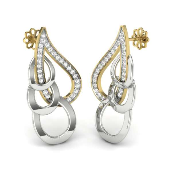 Loopy Dew Drop Earring