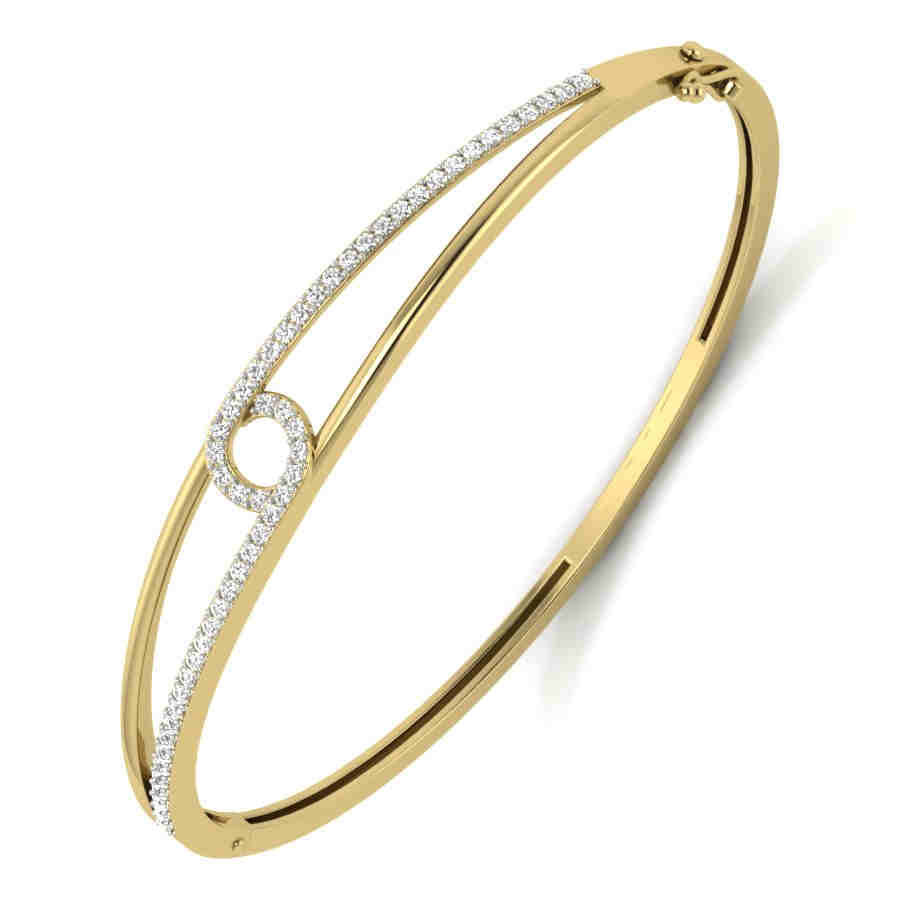 Dazzling Diamond Bangle