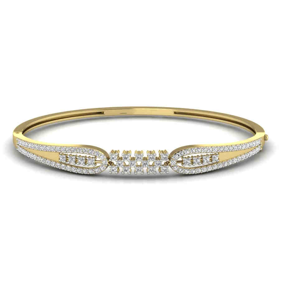Endless Love Diamond Bangle