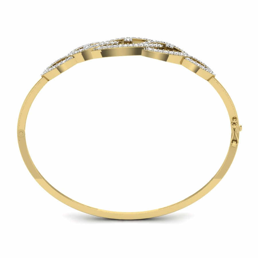 Conjoined Infinity Bangle